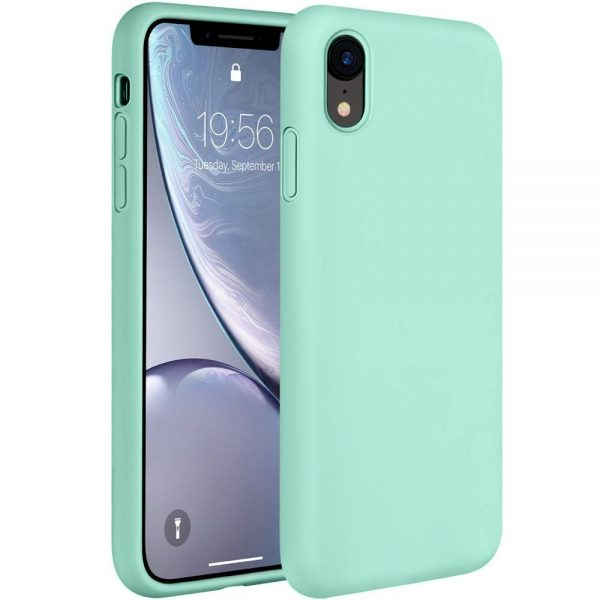 Silicone for iPhone XR - Mint