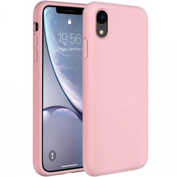 Silicone for iPhone XR - Pink