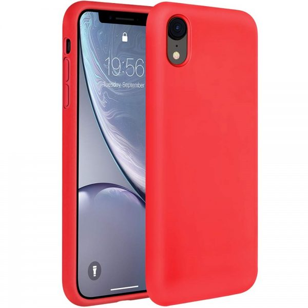 Silicone for iPhone XR - Red