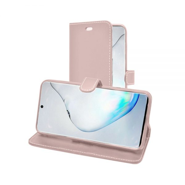 Wallet for Galaxy Note 10 Plus & Galaxy Note 10 Plus 5G - Rose Gold