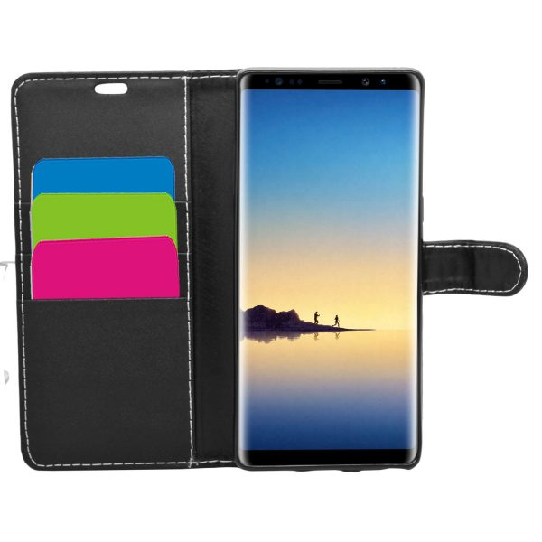 Wallet for Galaxy Note 8 - Black