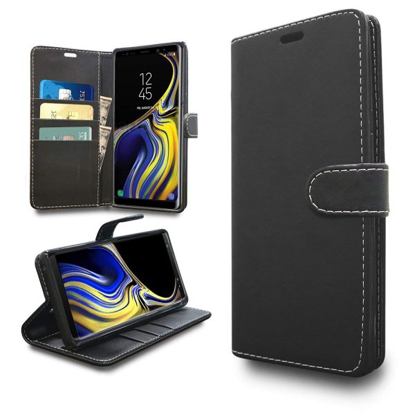 Wallet for Galaxy Note 9 - Black