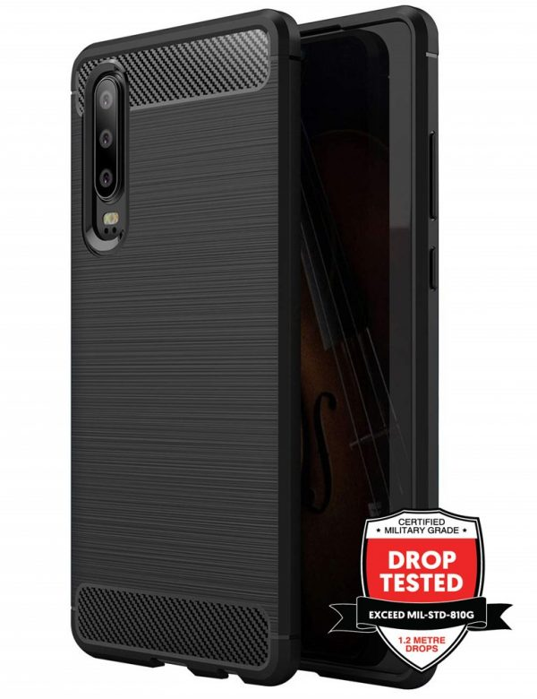 Carbon Air for Huawei P30 - Black