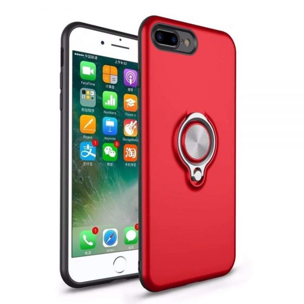 Ring Armour for iPhone 8/7 Plus - Red