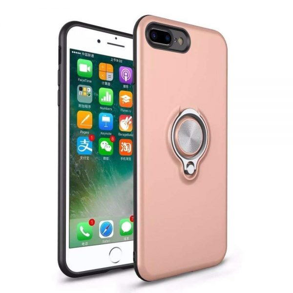 Ring Armour for iPhone 8/7 Plus - Rose Gold