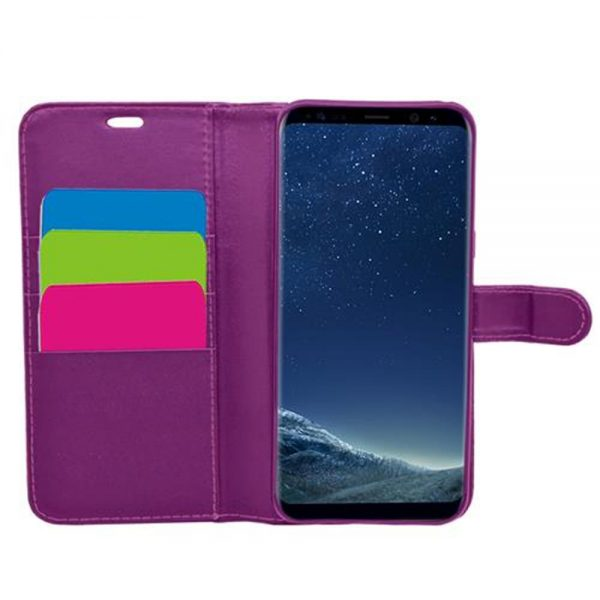 Wallet for Galaxy S8 Plus - Purple