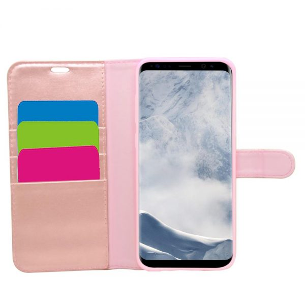 Wallet for Galaxy S8 Plus - Rose Gold