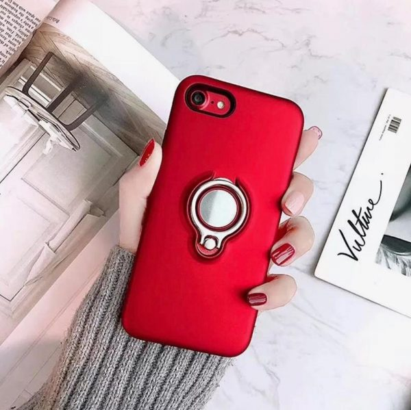 Ring Armour for iPhone 8/7 - Red