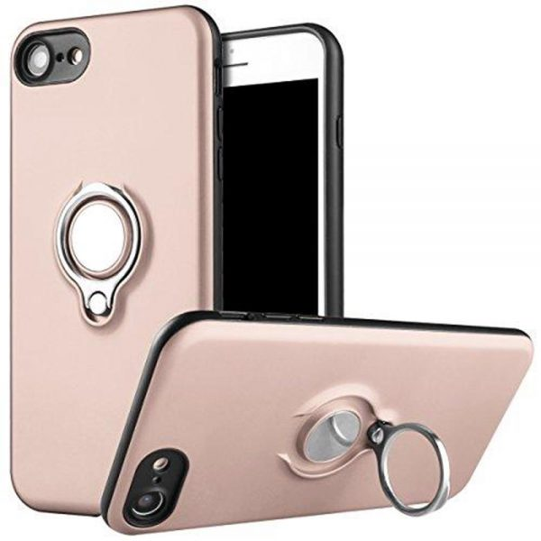 Ring Armour for iPhone 8/7 - Rose Gold