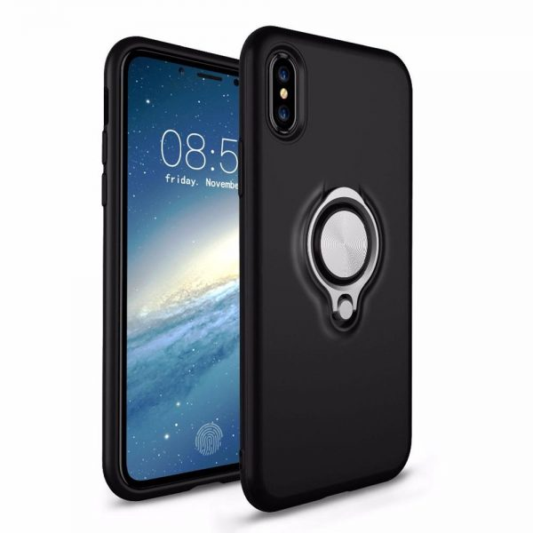 Ring Armour for iPhone XR - Black