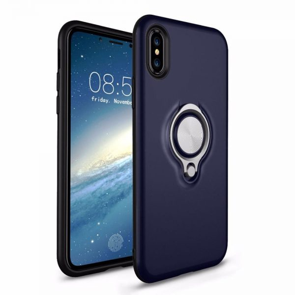 Ring Armour for iPhone XR - Navy