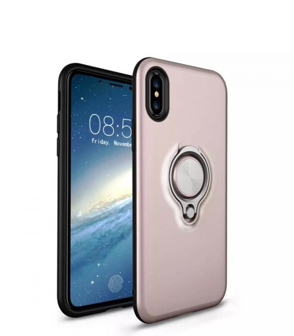 Ring Armour for iPhone XR - Rose Gold