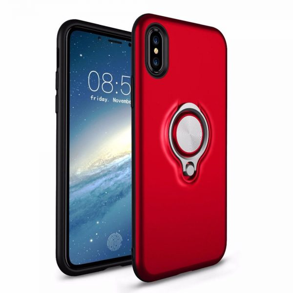 Ring Armour for iPhone XS/X - Red