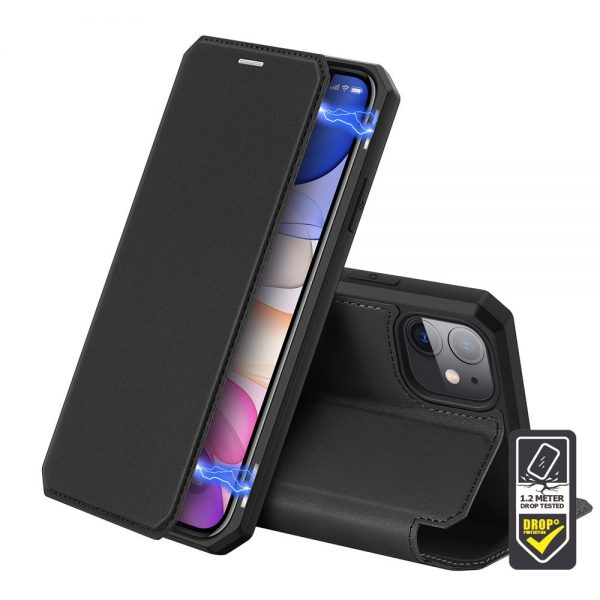 Dux Ducis - Skin X Wallet for iPhone 11 - Black