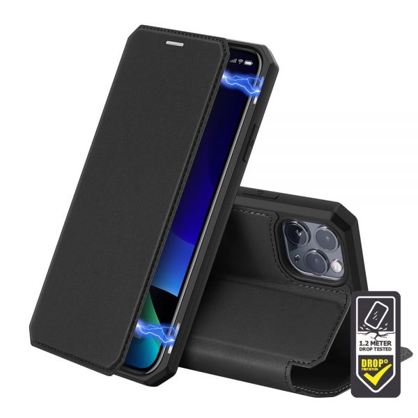 Dux Ducis - Skin X Wallet for iPhone 11 Pro Max - Black