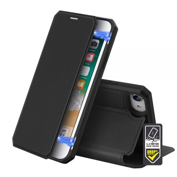 Dux Ducis - Skin X Wallet for iPhone 8/7 - Black