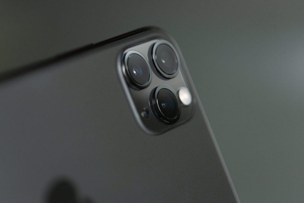 Close up of a pristine phone