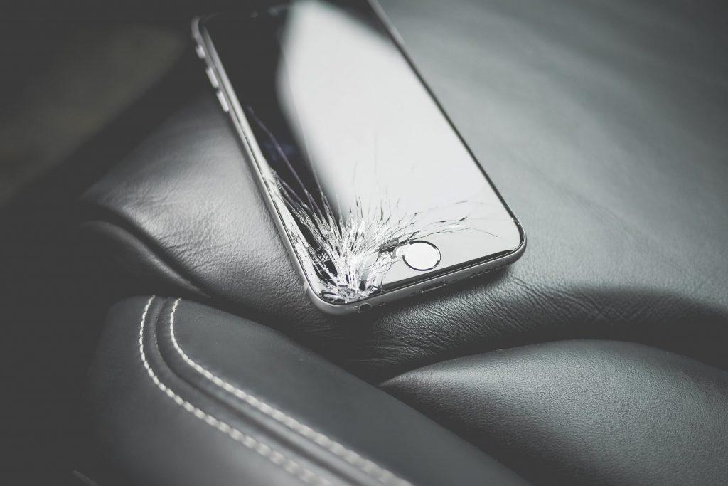 Damaged phone